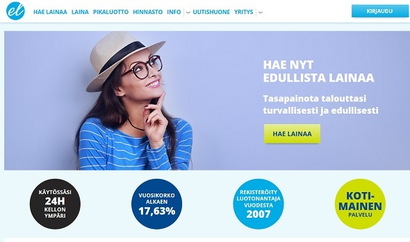 Euroloan auttaa sinua 24h ja sen korko on valmiiksi kilpailutettu meillä sinua varten
