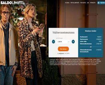 Limiitti sponsored by Saldo