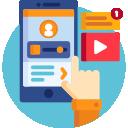 Hae lainaa netistä nettihakemuksella mobiililaitteella